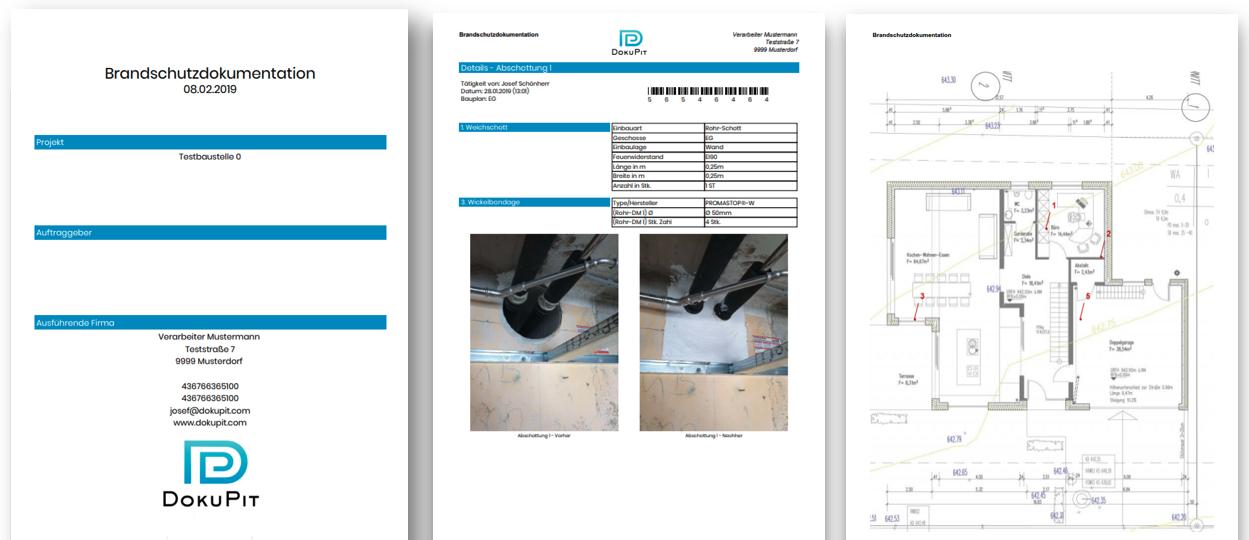 Baudokumentation Muster