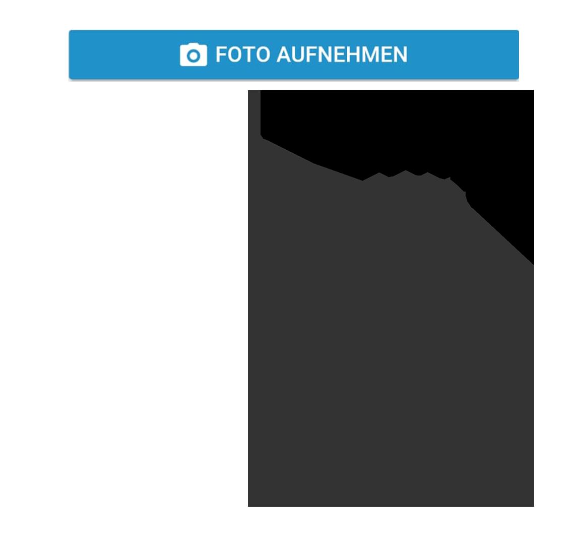 Symbol Foto mit Smartphone aufnehmen