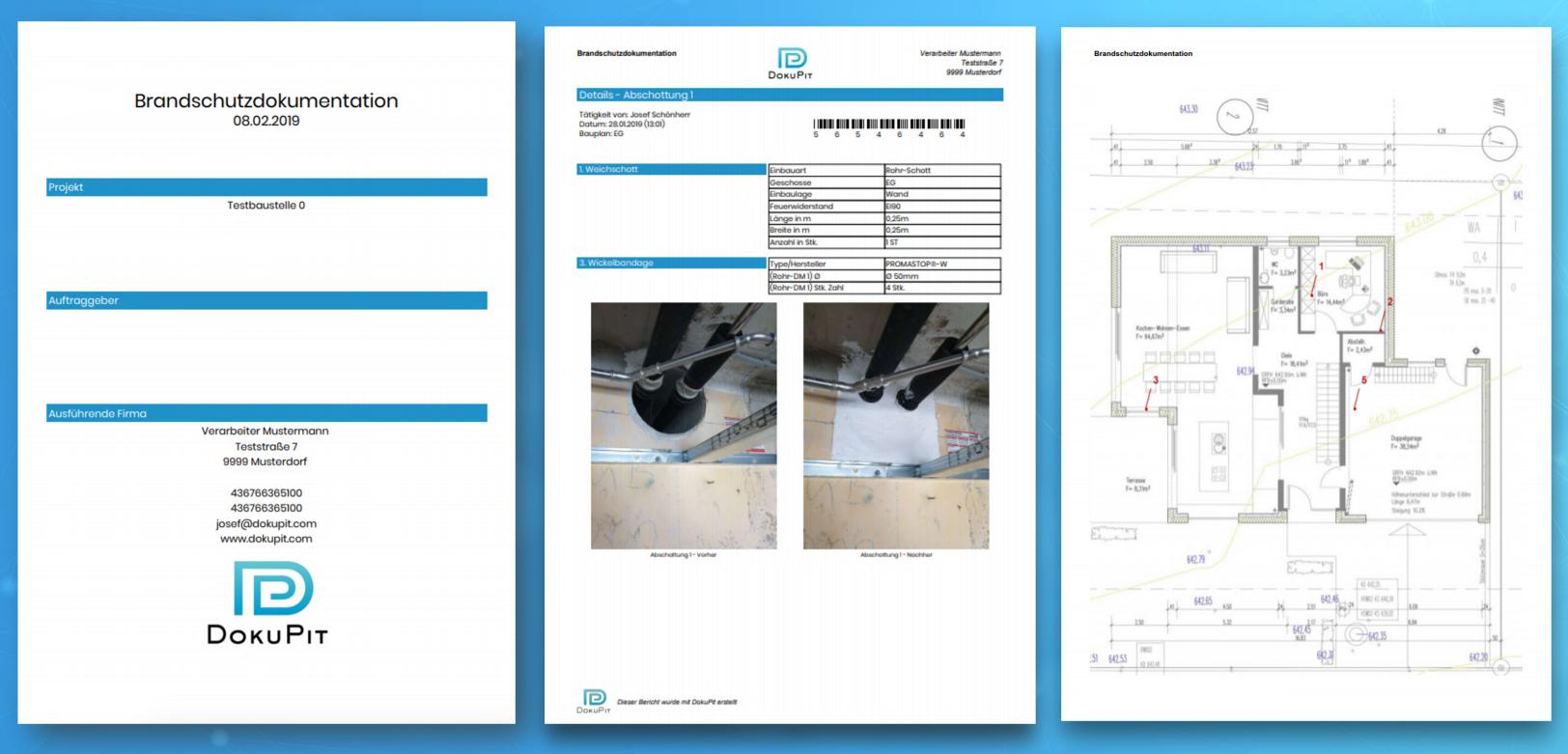 Brandschutzdokumentation PDF